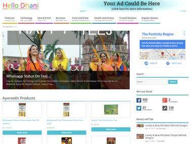www.hellodhani.com