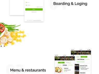 Mobile App for restaurant Fresh Delivery