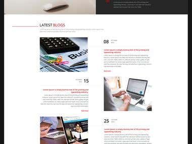 Сorporate website of marketing agency