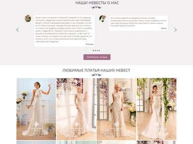 Online store of wedding dresses Dominik