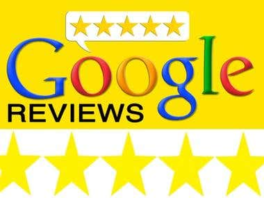 GooglePlus Custom Reviews