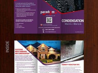 Company Tri-fold Brochure Design