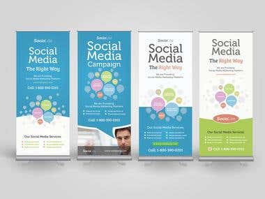 Banners for Social Media Marketing