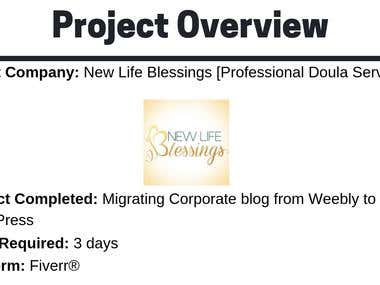 Corporate Blog Migration