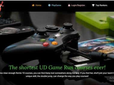 Game Website in PHP