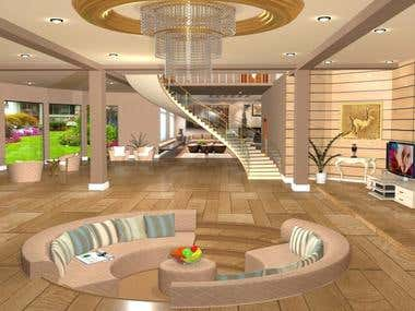 interior design in 3D