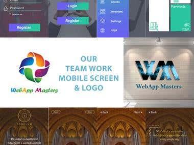 Page Designing & Logo designing
