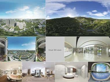 Vitual 360 views
