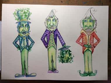 Children's book Illustrations - Watercolor