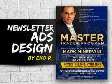 Newsletter Ad Design