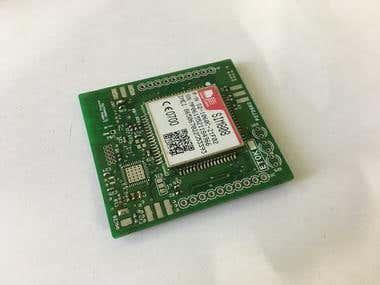 SIM808 GSM Breakout Board