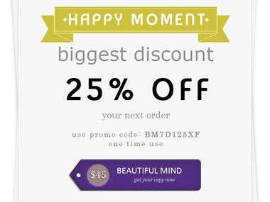 Beautiful Mind Ad Banner