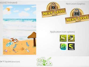 IPhone Game UI