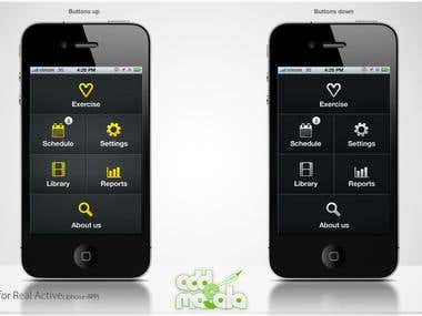 Iphone Application UI