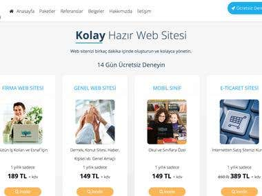SitenizOlsun Pre-built Web Site Infrastructure