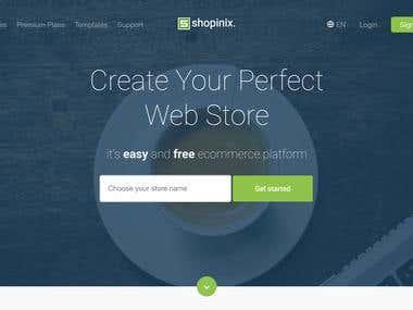 Shopinix E-Commerce Infrastructure
