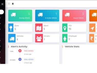 Codeigniter PHP : GPS Tracking System