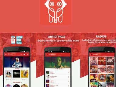 Mziiki- music streaming app