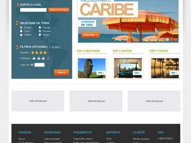 Travel Portal Store