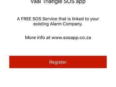 Vaal Triangle SOS app