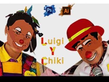 Luigi y chicki vectorization