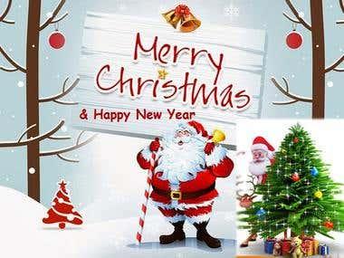 Santa illustration