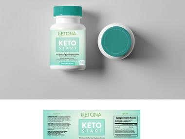 Supplement Product Packaging