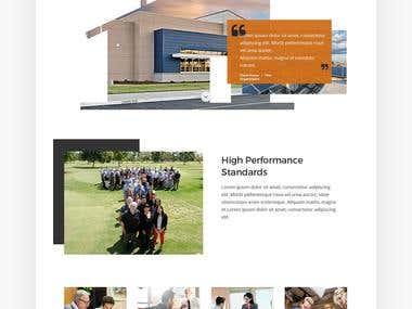 TETER - Website Redesign Concept