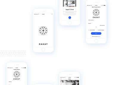 Zakat - Charity Fundraiser app