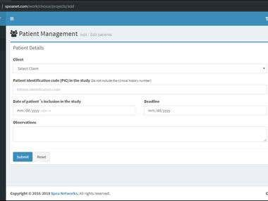 Sistema para subir archivos / Upload file system