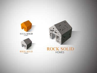 ROCK SOLID HOMES logo