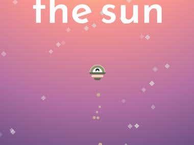"""""""Reach The Sun"""" - 2D Arcade Game"""