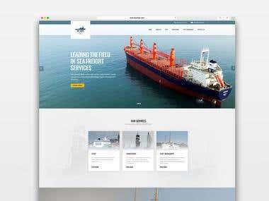 Web Design / Sky Ships