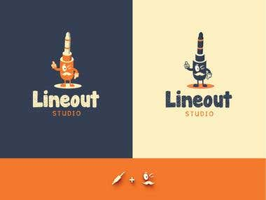 Logo for Lineout Studio