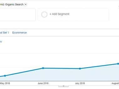 Significant Increase in Organic Traffic