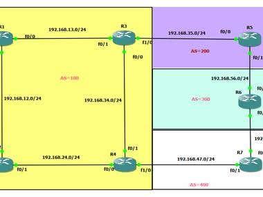 BGP attribute