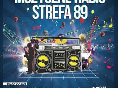 """Poster for """"Muzyczne radio"""""""
