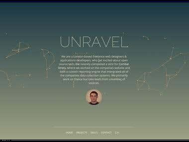 Unravel Website