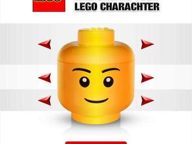 Lego Facebook application