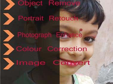 Photo Editing,Color change,background remove,beautification,