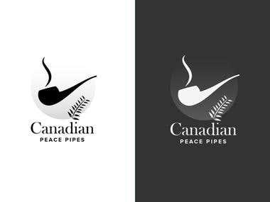 Canadian Peace Pipes Logo