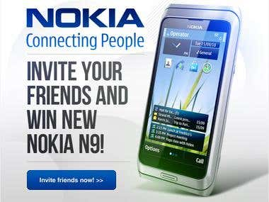 Nokia Facebook application