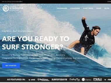Surf Strength Coach - Digital Marketing Strategy & Execution