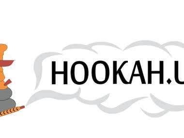 Logo for hookah