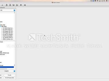 Wave Trimmer on MacOS