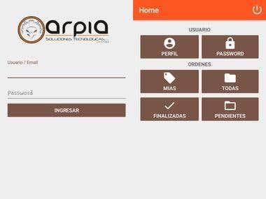App Órdenes De Servicio Técnico