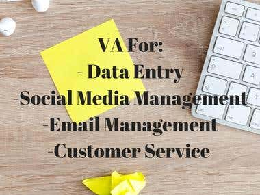 VA FOR DATA ENTRY AND OTHER TASKS