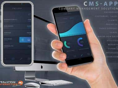 CMS-APP for iOS, Android and Web
