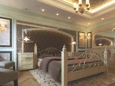 Bedroom suite design