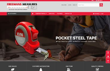 Freemans an International Brand in measuring Tapes.